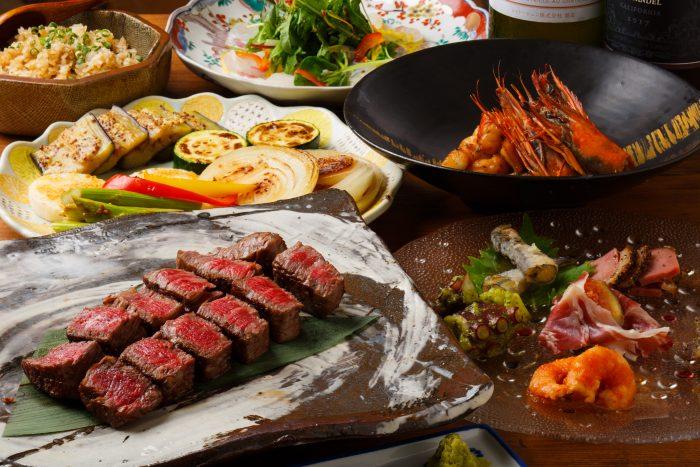 熊本・上通「鉄板バル禅」鉄板焼きの名店でこだわりステーキを!