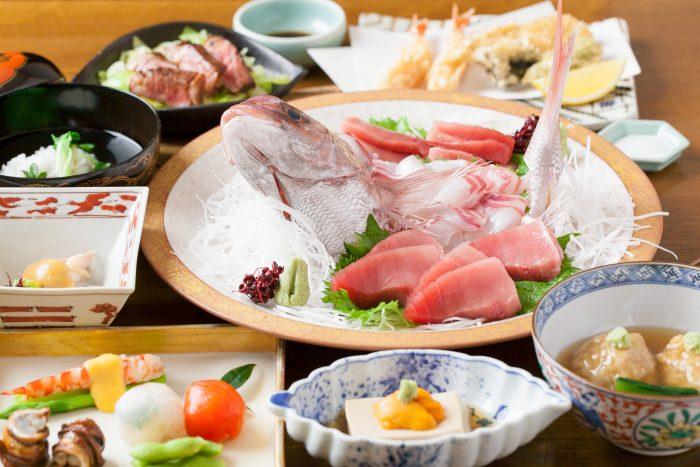 兵庫・西宮の老舗「日本料理 花ゆう」で美味しい懐石を味わう。