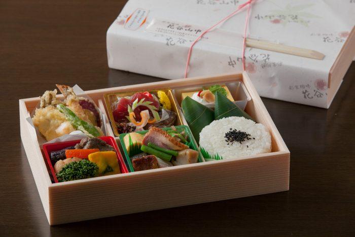大阪、中崎町で和食を気軽に楽しめる「花谷山中」で人気の仕出し弁当!