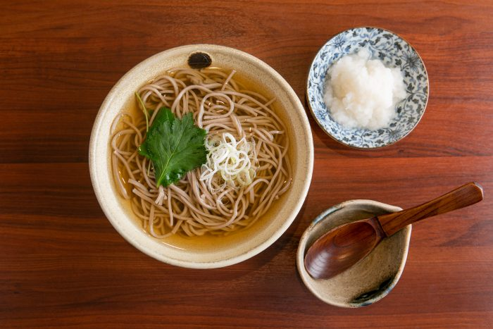 松吟庵の蕎麦