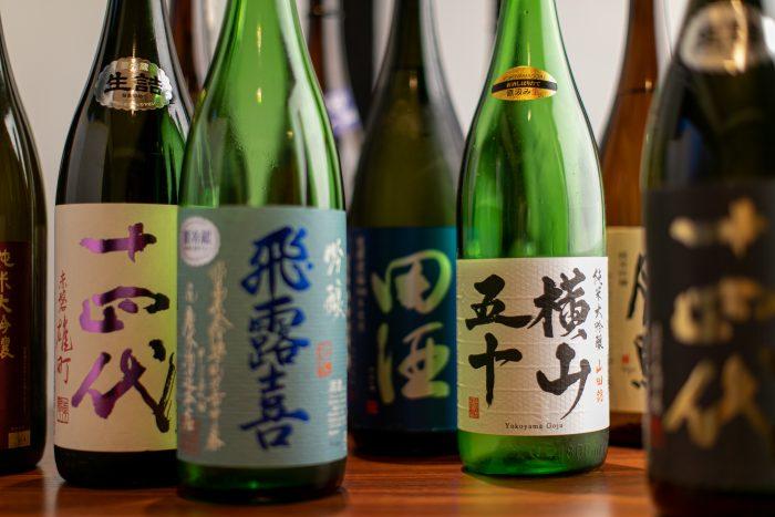 全国各地から取り寄せる厳選日本酒