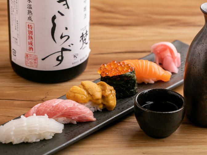 心斎橋で深夜にお寿司で一人飲みが楽しめる「寿司bar えびやん」を口コミレポート!