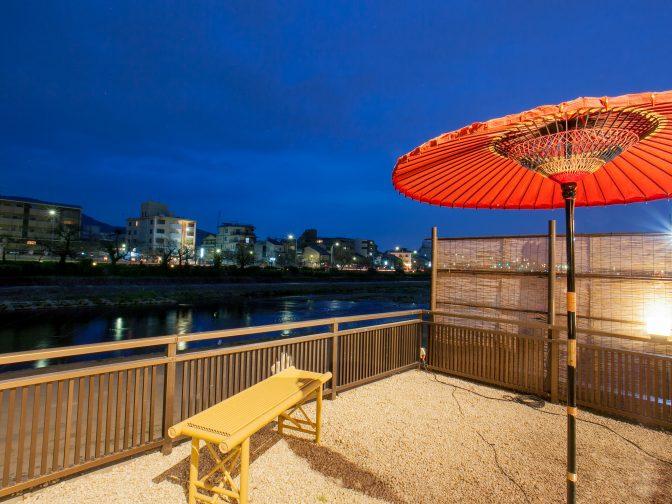 京都河原町で記念日にも人気の納涼床のある和食居酒屋「月彩」を口コミレポート!