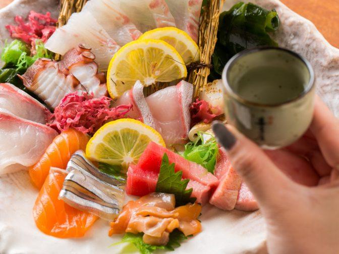 接待や宴会、女子会なら、個室・宴会場完備のこちら!西新駅周辺の海鮮居酒屋「酒膳屋 たぐせん(しゅぜんや たぐせん)」。