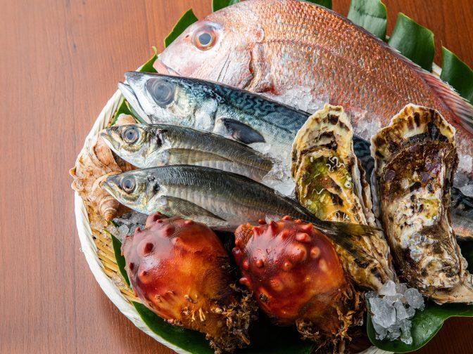 仙台、国分町で地元食材と日本酒が個室で楽しめる居酒屋、三陸海鮮と地元牧場のお肉 仙台海蔵(せんだいうみぞう)